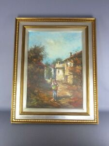Gianantonio-For-Pandino-Large-Painting-Painting-Oil-50X70-With-Certificate