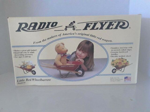 (7262) Radio Flyer Little Res Wheelbarrow Model #4