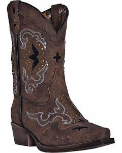Laredo Girls/' Dan Post Rulay Cowgirl Boot Snip Toe LC2232