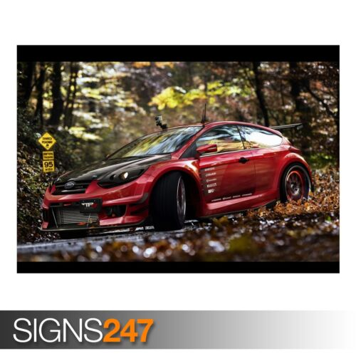 AB446 CAR POSTER Photo Picture Poster Print Art A0 A1 A2 A3 A4 FORD