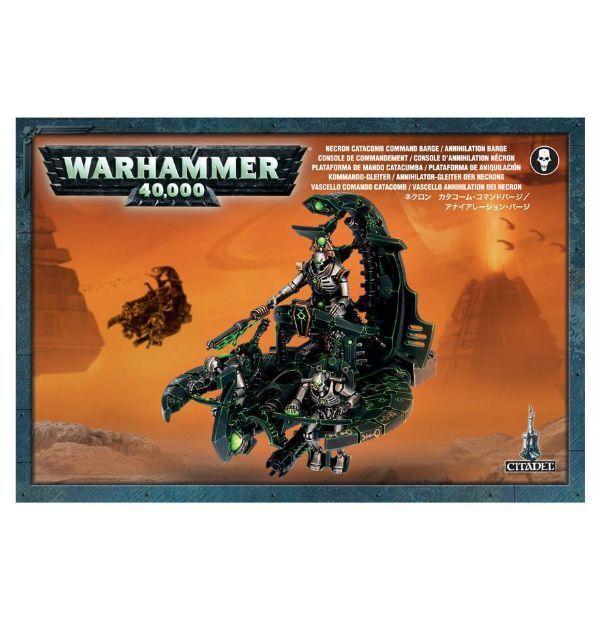 Warhammer 40K Necrones comando Barco aniquilación barco.
