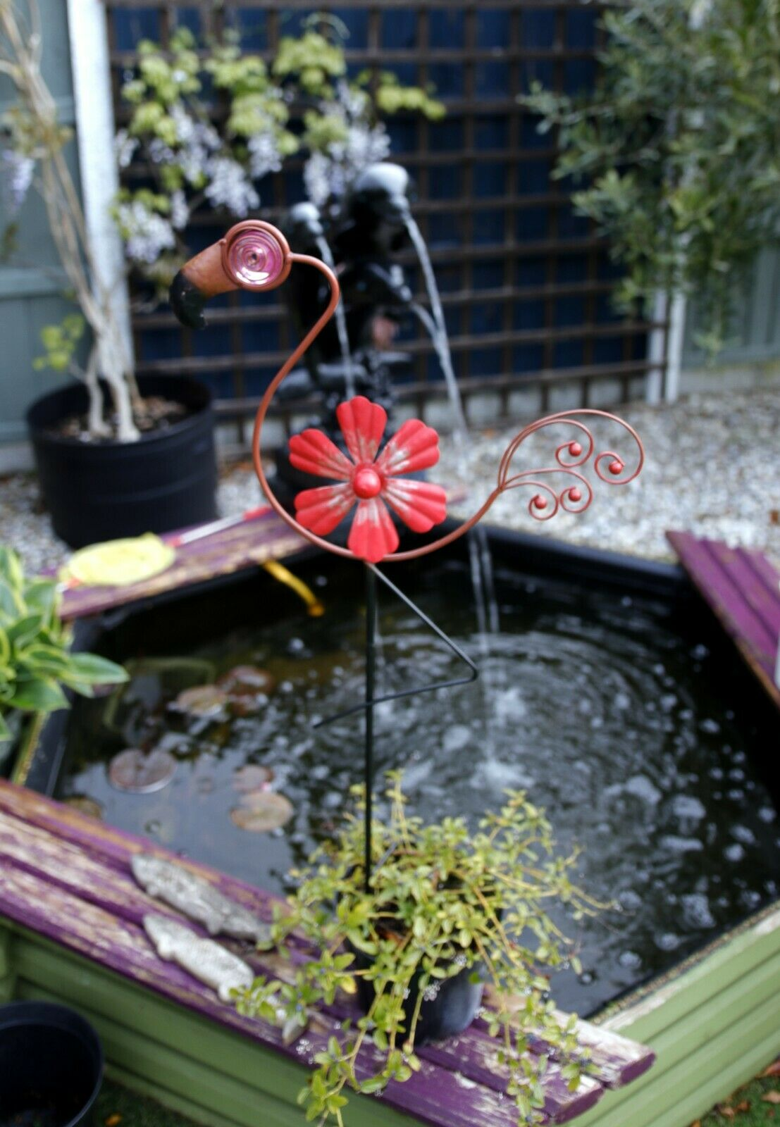 Flamingo Spinner Stake- RRP 19.99 BUY 2 FOR THE PRICE OF 1