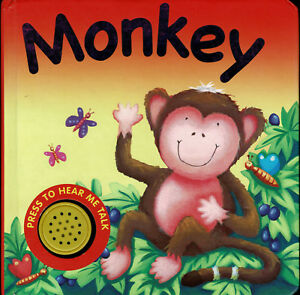 Details about Monkey ~ Sound Board Book ~ Plays OO-OO's ~ Igloo Books  **NEW**
