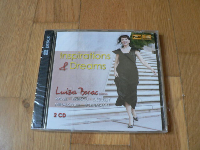 Luiza Borac ‎: Inspirations & Dreams -Ravel, Enescu, Debussy, Mihalovici 2CD NEW