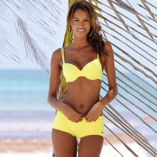Damen Bikini Set Push Up BH Badeshorts Badeanzug Bademode Strandkleidung 38 40