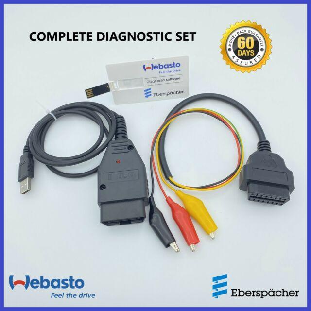 Heater diagnostic device for Webasto Thermo Top C,E,P,S,T,V,Z/&Eberspacher edith.
