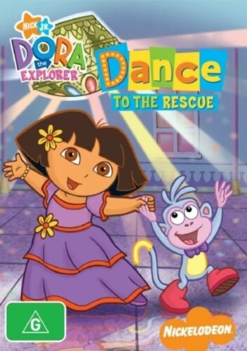 1 of 1 - Dora The Explorer - Dance To The Rescue (DVD, 2008) Region 4 Children's DVD VGC