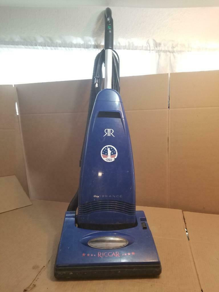 RICCAR VIBRANCE UPRIGHT VACUUM FLOOR MODEL -blueeeeeeE ((