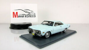 Scale-model-car-1-43-Dodge-Dart-Swinger-Light-Blue-1973
