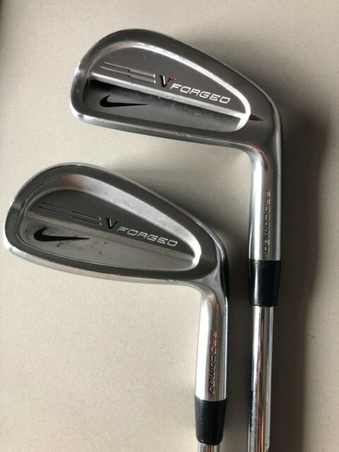 RH Nike VR Forged Pro Combo Iron Set (3-PW) stiff flex in remarkable condition!