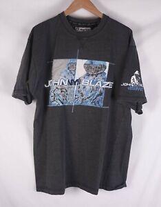 Johnny-Blaze-T-Shirt-Method-Man-Vintage-Size-L-C0628a4