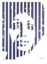 Werner Berges GOURMET DE FUNK - silver - 2002, Pop Art Grafik, h & n - NEU
