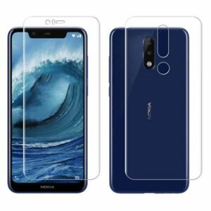 Front+Back Full Cover Screen Protector Soft Film For Nokia X6 X5 3 5 6 7 8 Lot