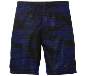 41bdd880a5 Details about ASICS Men's Club GPX Tennis Shorts 7in Indigo Blue Size L