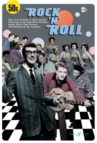 50s Rock n Roll Rock n Roll Guitar Chords Voice Learn to Play FABER Music BOOK