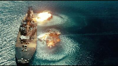 BATTLESHIP GLOSSY POSTER PICTURE PHOTO water navy naval waves wall decor usa 448