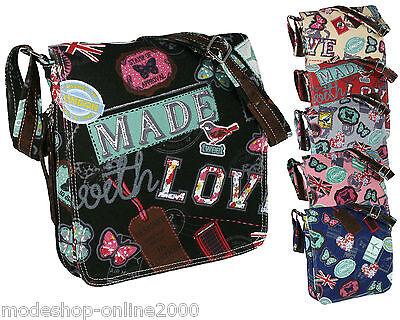 Tasche Damentasche Handtasche Stofftasche Schultertasche Farbwahl!!!