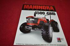 Mahindra 4500 4WD Tractor Dealer's Brochure YABE12