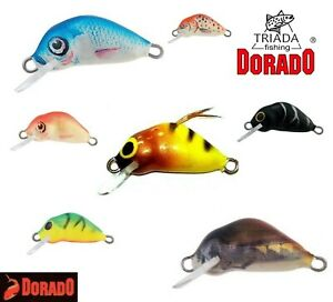 Ultra-Licht-Koder-Angeln-Dorado-Magic-Schwimmend-Sinkende-1-8cm-Perch-Chub-Trout