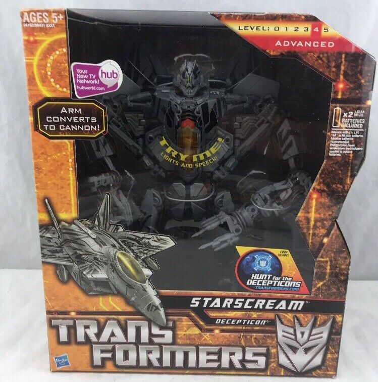 Transformers Movie HFTD Leader Class Starscream Menthe en Boîte Scellée