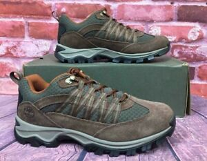e74dbea9ad7 Details about TIMBERLAND MEN'S MT. MADDSEN LITE LOW HIKING SHOES DARK BROWN  A1PV5