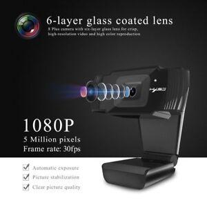 Camara-web-HD-Para-Smart-Tv-Box-portatiles-de-escritorio-Enfoque-Automatico-Unidad-1080P-Camara