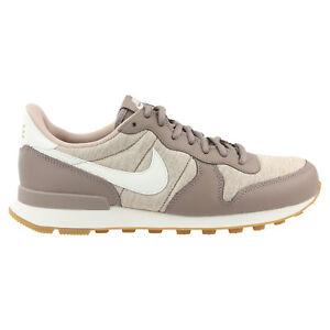 Schuhe 203 zu Nike Damen Hellbraun Sneaker Internationalist 828407 Details R5A4Lj