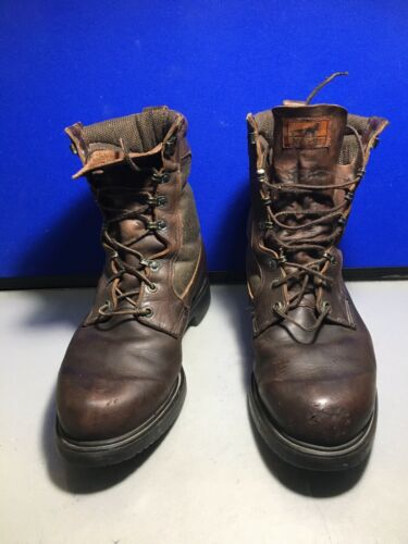 Irish Setter Gore Tex Brown Leather Boots Size 12