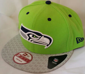 4ed2f4eebc4 Image is loading NWT-NEW-ERA-Seattle-SEAHAWKS-9FIFTY-SNAPBACK-adjustable-