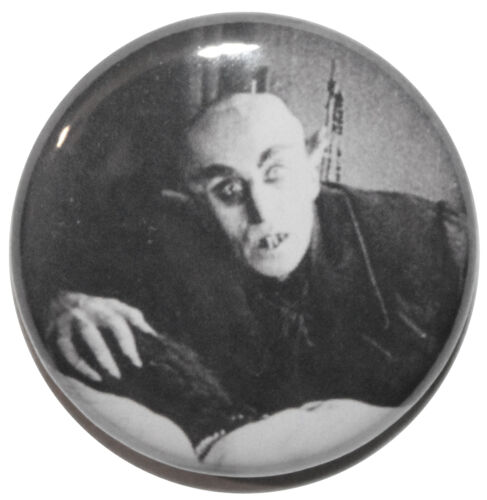 Nosferatu Bed Scene 1922 Horror Movie Button Badge Pin 25mm High Quality 1/""