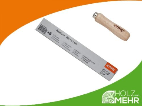 plástico feilenhalter para sierra cadenas de 5,5 mm 5605 771 5506 Stihl rundfeile 6 St