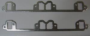 CHRYSLER-VALIANT-V8-EXHAUST-HEADER-EXTRACTOR-MANIFOLD-GASKET-360-340-318-273-VE