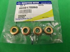 GENUINE SSANGYONG KYRON SUV 4CYL 2.0L TURBO DIESEL INJECTOR WASHER SET (4EA)