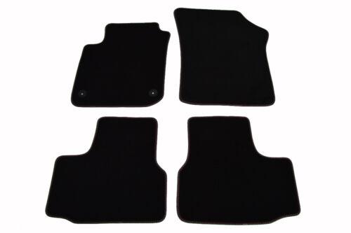 Fußmatten für VW UP//Seat Mii//Skoda Citigo Bj.2011 Original Doppelnaht Velours