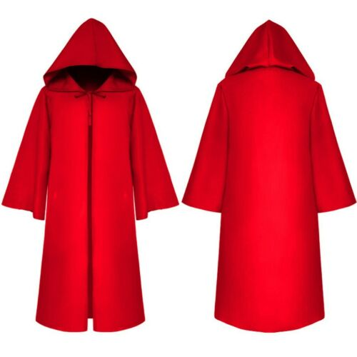 Halloween Party Womens Mens Boys Girls Hooded Bandage Cloak Cosplay Outwear Coat