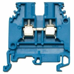 Entrelec-1sna125116r0100-4mm-Azul-Comedor-hasta-Terminal