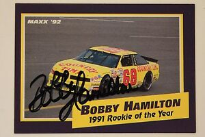 Image Is Loading BOBBY HAMILTON D 2007 NASCAR 1991 Rookie Of