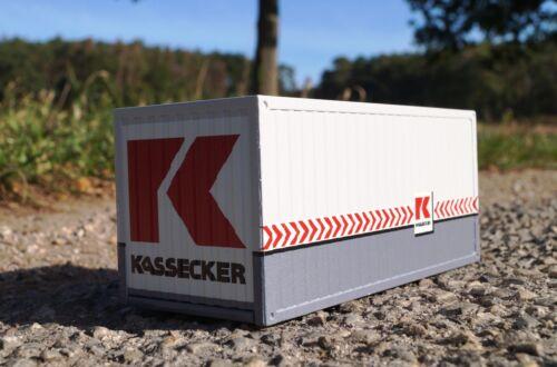 "KASSECKER CONRAD 99928//05 KASSECKER 20 FT SEA CONTAINER 1:50 /""BRAND NEW IN BOX/"""