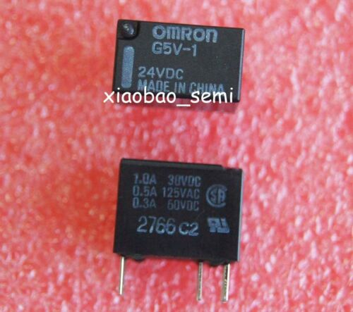 5PCS G5V-1-24VDC G5V-1-DC24V Signal Relay ORIGINAL OMRON 6PINS