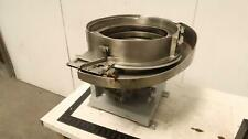 Feeder Machinery Company Em 15 Stainless Steel Vibratory Bowl Feeder 15 In T1775