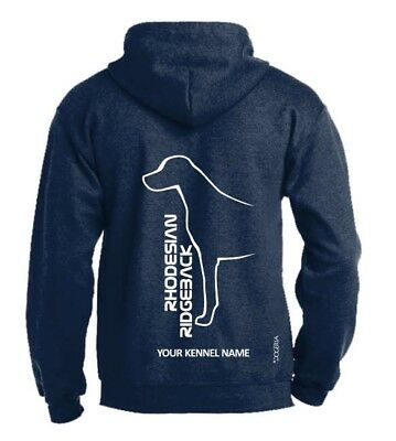 Rhodesian Ridgeback Dog Breed Hoodie Exclusive Dogeria Design Pullover Style