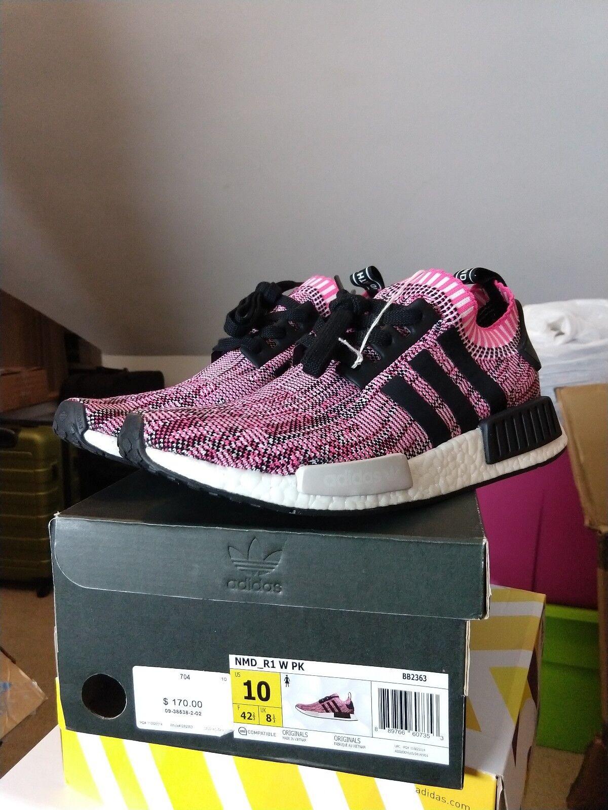 DS Adidas Nmd R1 Pk Pink W Sz 10 bb2363 boost
