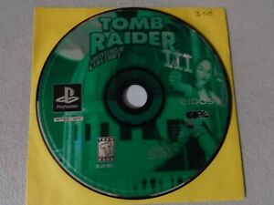 Tomb Raider 3 Green Disc Playstation One Ps1 Psx Game Disc Only