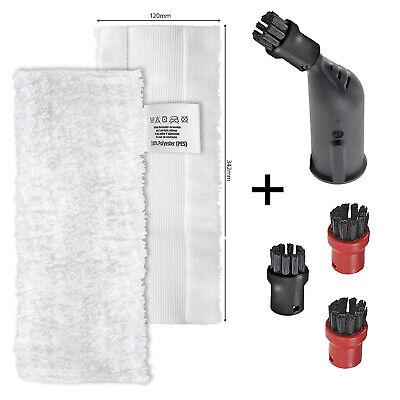 4 X Tool Brush Nozzle Brushes For KARCHER Steam Cleaner SC1 SC2 SC3 SC4 SC5