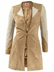 Lederblazer-Travel-Couture-by-Heine-Sand-NEU-KP-249-90-SALE