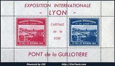 FRANCE BLOC EXPO INTERNATIONALE DE LYON 1914 NEUF ** SANS CHARNIERE