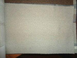 FAT QUARTER Isles Harris Hunter Rosso Herringbone Tweed Wool Touch FQ Fabric