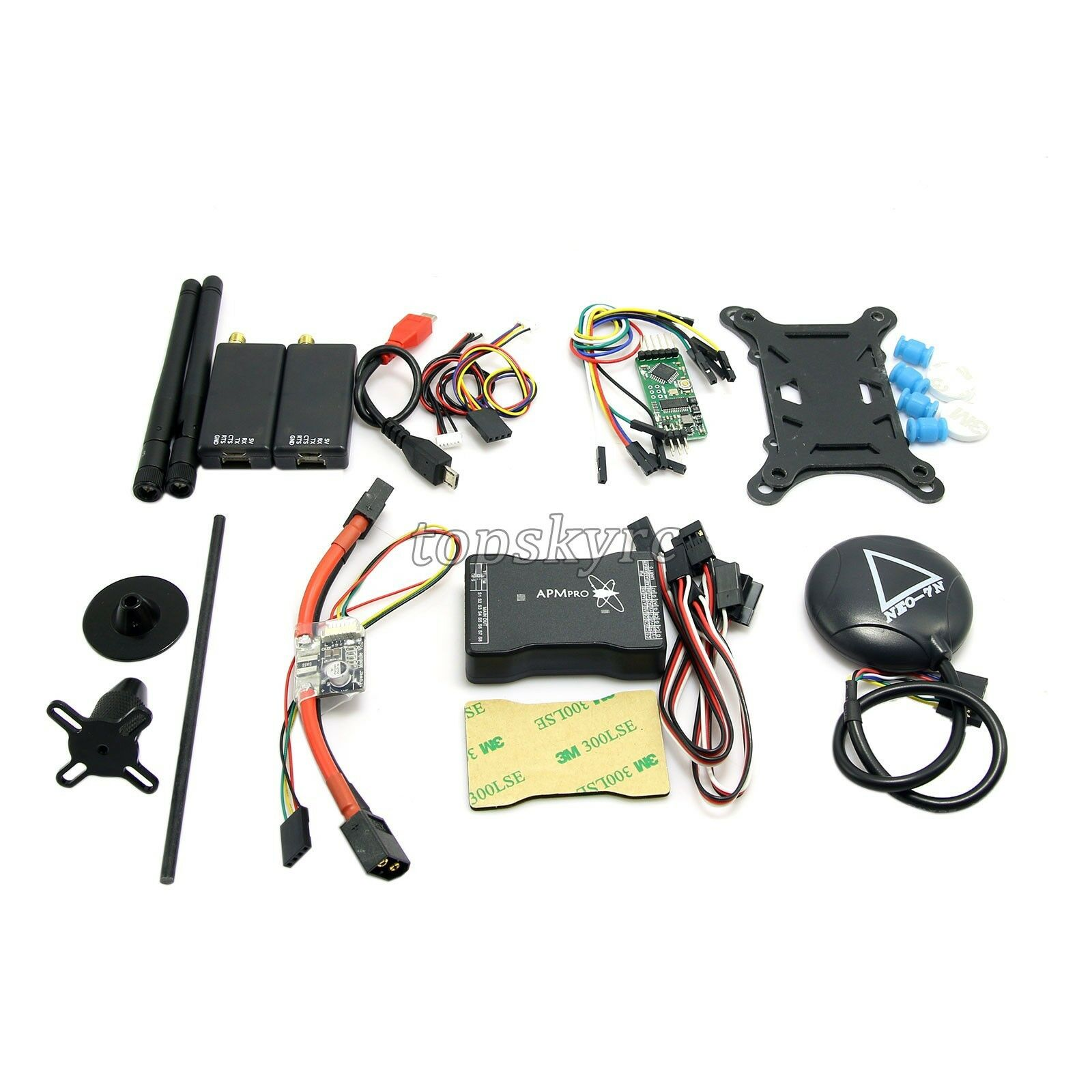 Mini APM Pro Flight Control with 915Mhz Telemetry & 7N GPS & PM & OSD for FPV