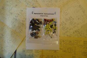 Marantz-model-9-amplifier-capacitor-restoration-recap-repair-service-rebuild-kit