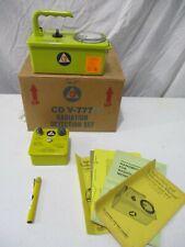 Civil Defense Cd V 715 Radiation Detection Kit Cdv 715 Gieger Counter Charger